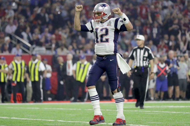 Super Bowl QB Tom Brady