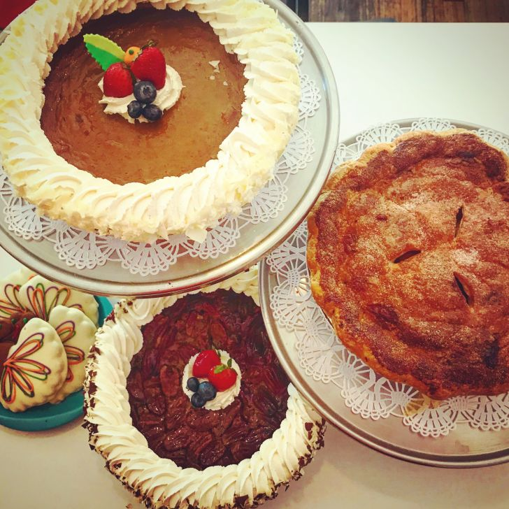 Pies from Deluxe