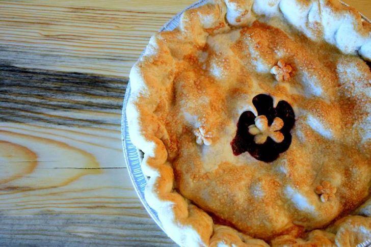 Close-up of a pie.