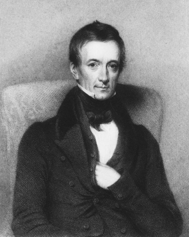 Portrait of Peter Mark Roget.