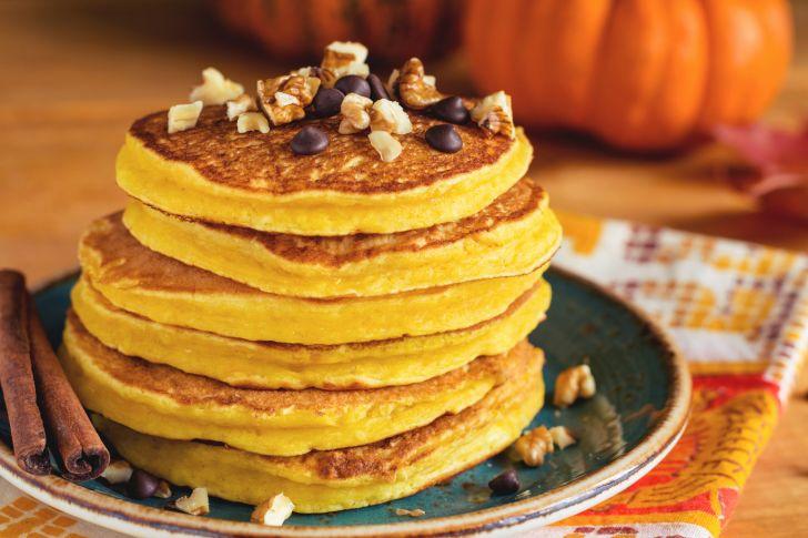 Stack of potato pancakes