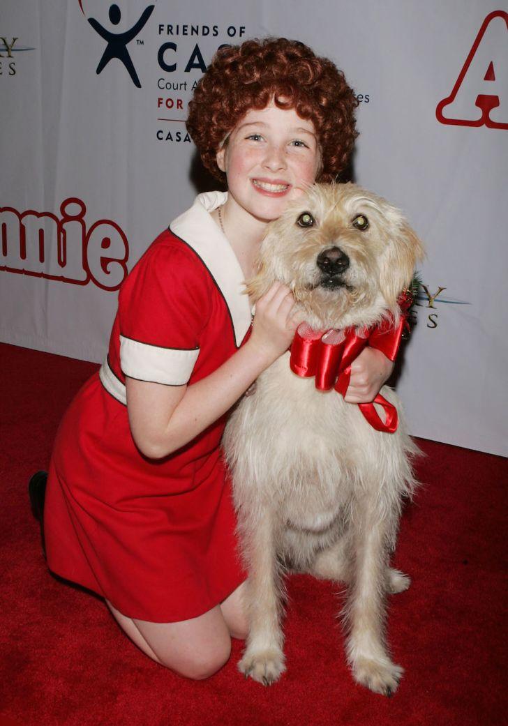 Sandy the dog in 'Annie'