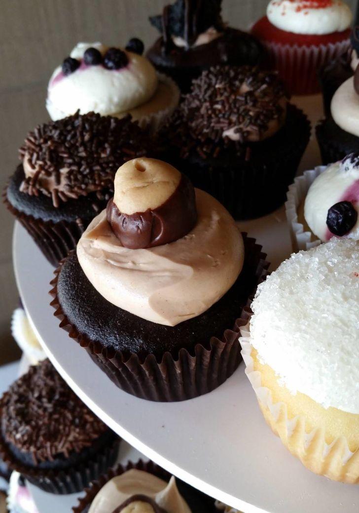 Fate Cakes Buckeye Cupcake