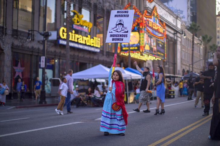 Indigenous Peoples Day celebration in Los Angeles