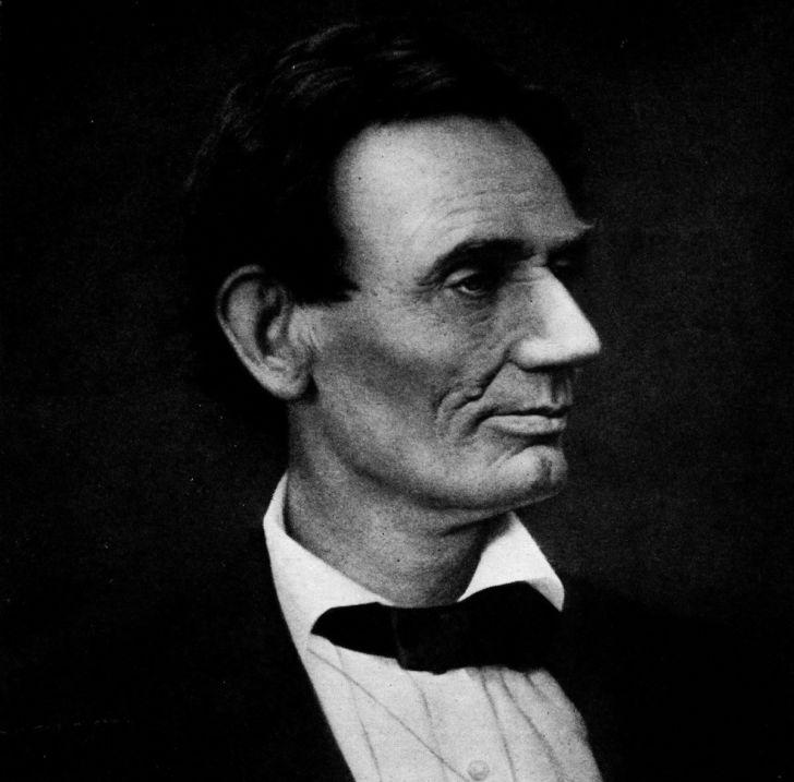 Portrait of Abraham Lincoln.