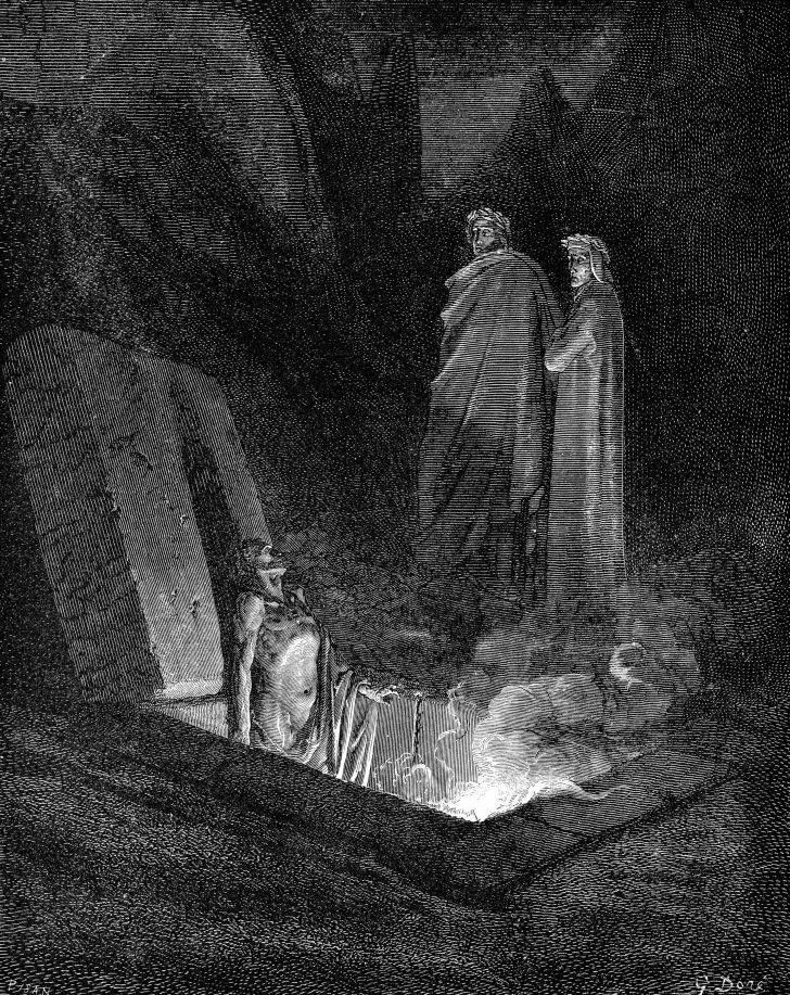 Dante Alighieri: illustration of The Divine Comedy.