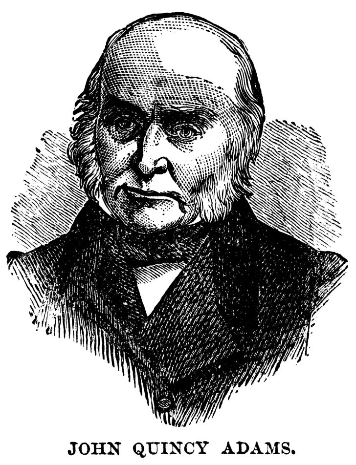 U.S. President John Quincy Adams.