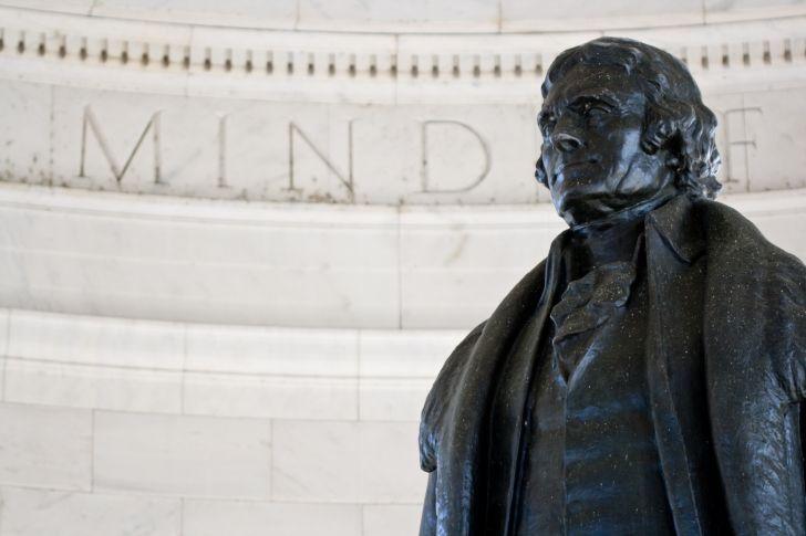 The Thomas Jefferson Memorial in Washington, D.C.