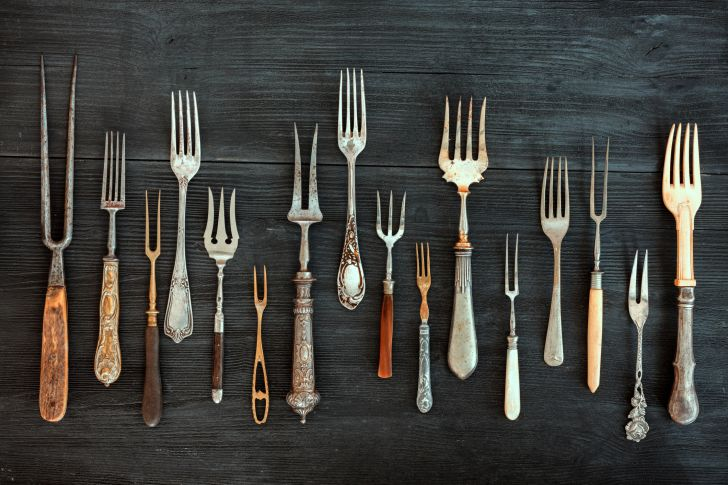 Artist Pablo PIcasso was a painter and a sculptor, using forks and other tools to create his unique works.