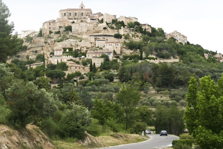 A photo of Mougins, France, the commune where artist Pablo Picasso lived later in life until he died in 1973.