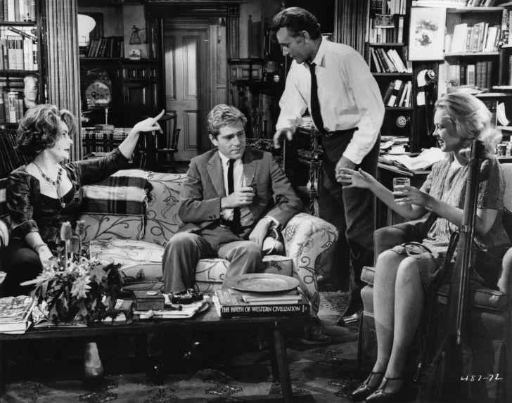 A photo of Richard Burton and Elizabeth Taylor in 'Who's Afraid of Virginia Woolf?'