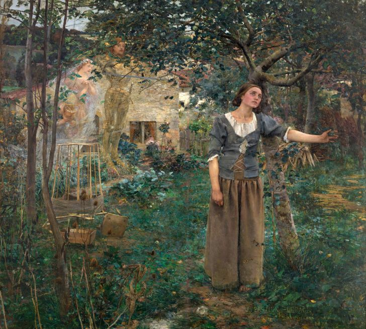 Joan of Arc painting by Jules Bastien-Lepage.