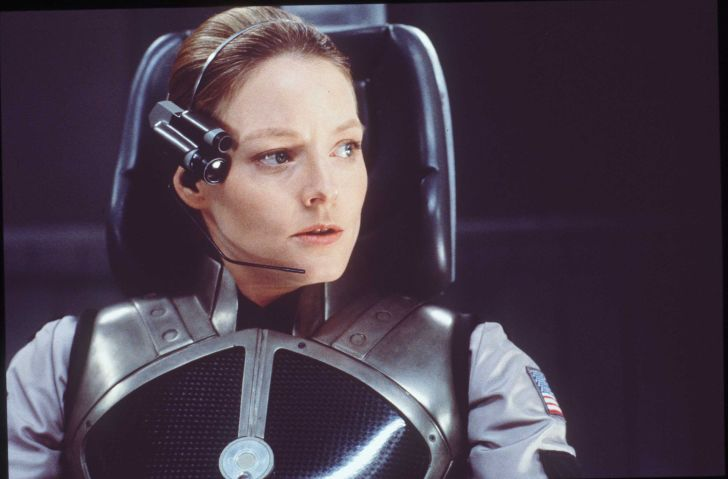 Actress Jodie Foster in the movie 'Contact.'