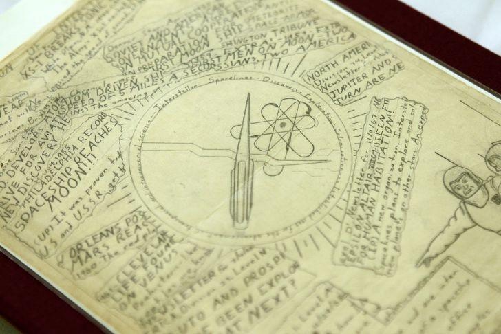 Carl Sagan papers on display in Washington, D.C.