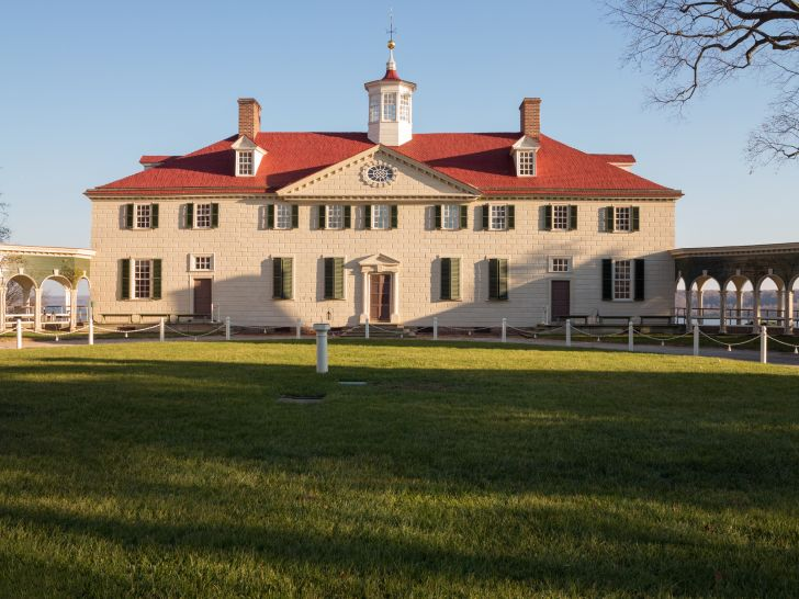 A photo of Mount Vernon, Virginia.