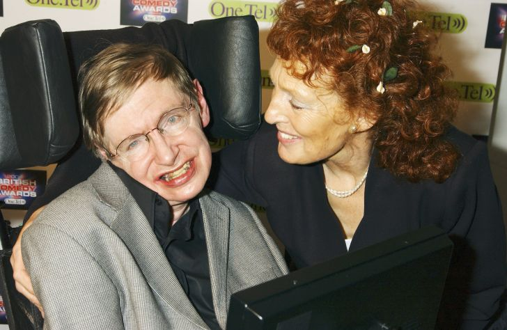 Stephen Hawking and wife Elaine Mason.
