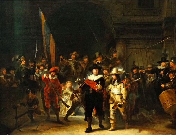 Rembrandt's 'The Night Watch.'
