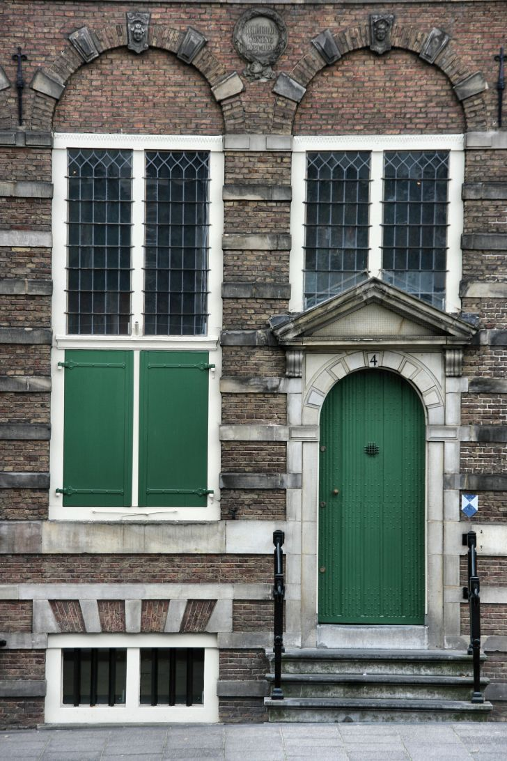 Rembrandt's house in Amsterdam.