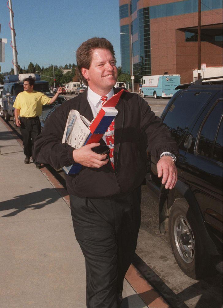 Roger Clinton, President Bill Clinton's half brother.