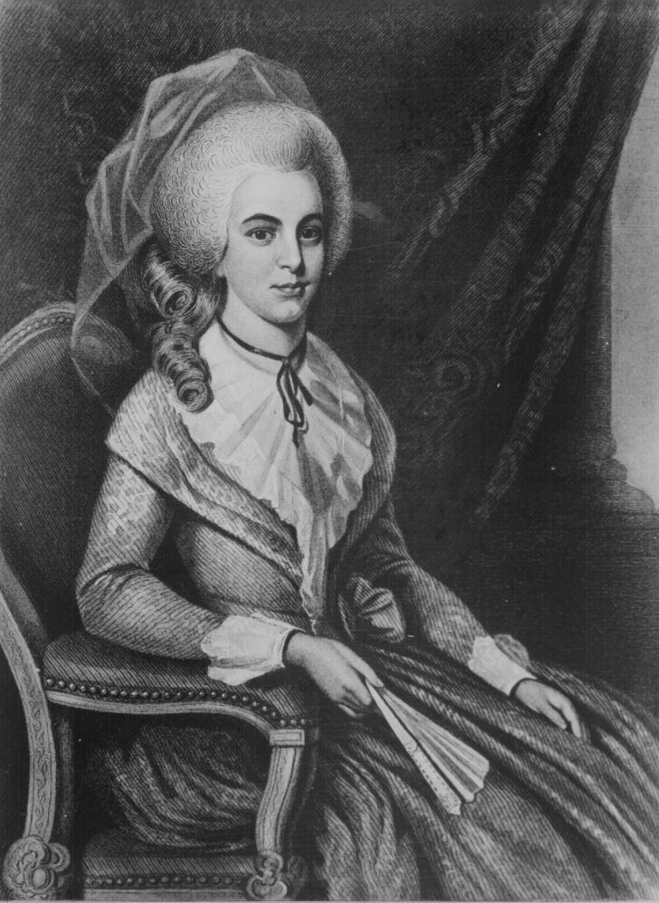 portrait of elizabeth schuyler hamilton