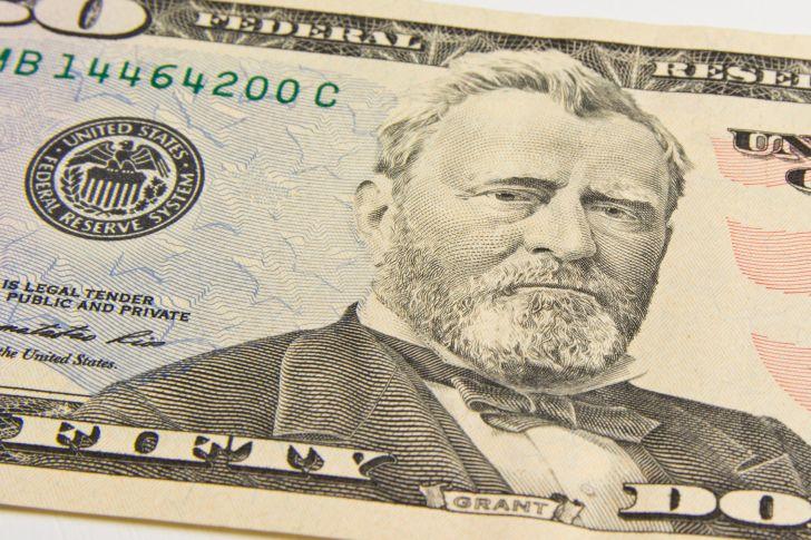 A photo of a $50 bill.