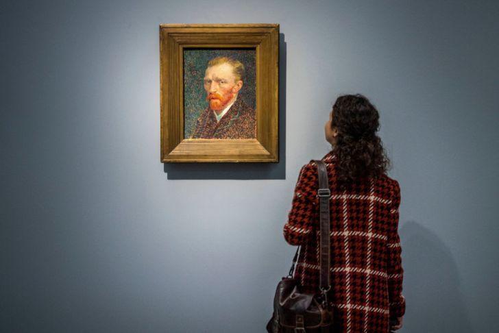 Vincent Van Gogh Self-Portrait.