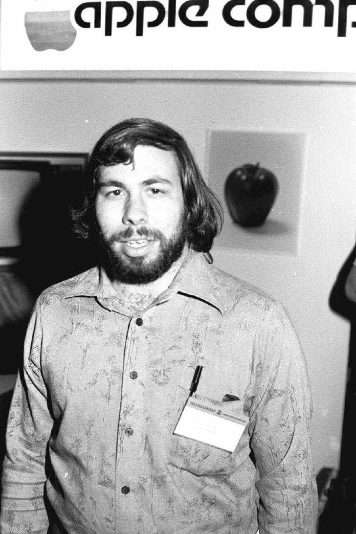 Steve Wozniak and the Apple II.