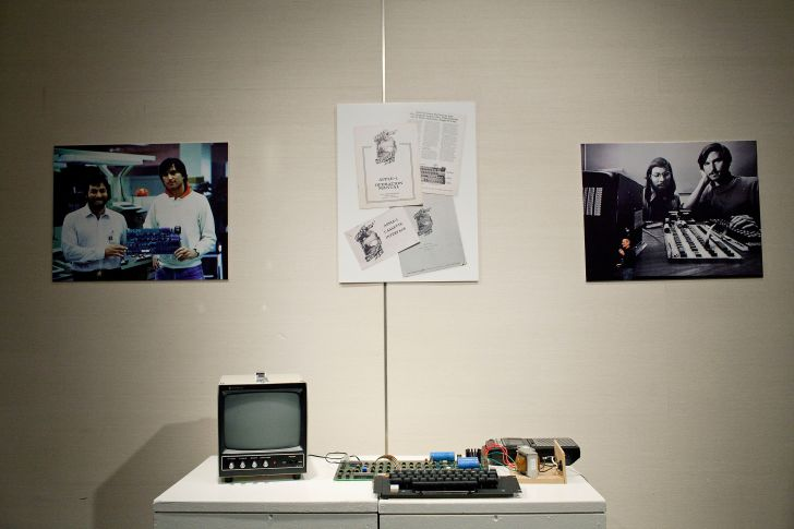 The Apple I by Steve Wozniak.