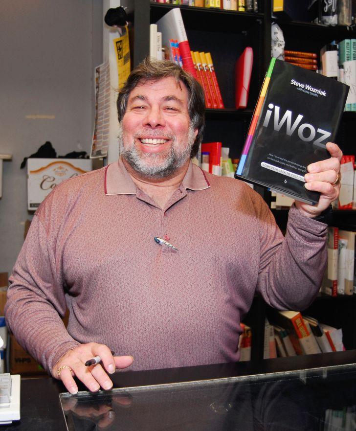 Steve Wozniak's autobiography, 'iWoz.'