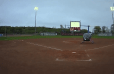 VIDEO: Softball Team Uses Helicopter to Dry Field After Rain Delay