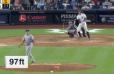 SALVAJE: Este jonrón de Stanton es el de mayor velocidad en lo que va de temporada en MLB