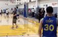 IMPLACABLE: Stephen Curry demostró que está listo para la temporada con esta demostración de tiro