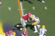 VIDEO: Evander Holyfield's Son Goes Full Truck Stick and Runs Through LSU Defender