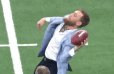 VIDEO: Conor McGregor is Spectacularly Bad at Throwing Footballs