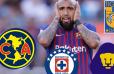 REVELADO | El grande de la Liga MX en el que Vidal ha confesado que le gustaría jugar