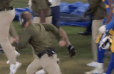 VIDEO: Sean McVay Ran Full Speed to Break Up Aaron Donald-Justin Britt Fight and It's Awesome