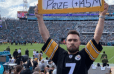 Steelers Fan Holds Perfect Le'Veon Bell Sign at Sunday's Game in Jacksonville