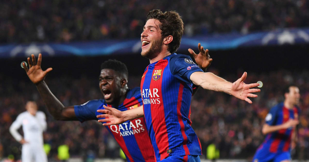 Manchester United Have Bid for Sergi Roberto Rejected With Reports  Suggesting He Is Not for Sale  6b23cf002754