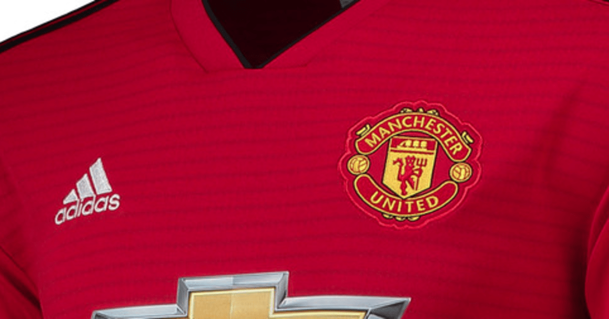 officiel le maillot home de manchester united pour la. Black Bedroom Furniture Sets. Home Design Ideas