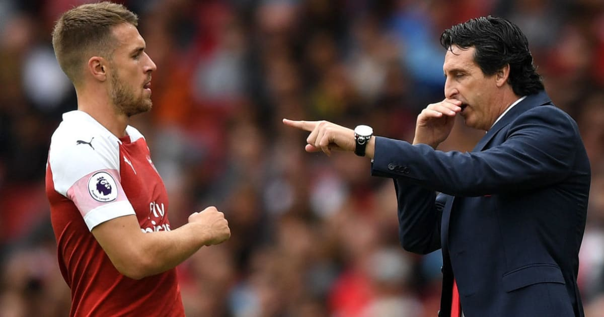 Arsenal Manager Unai Emery Accepts Criticism Over Handling of Aaron Ramsey's Contract Situation
