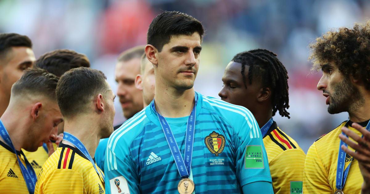 Belgium Goalkeeper Thibaut Courtois Wins the FIFA World Cup Golden Glove Award