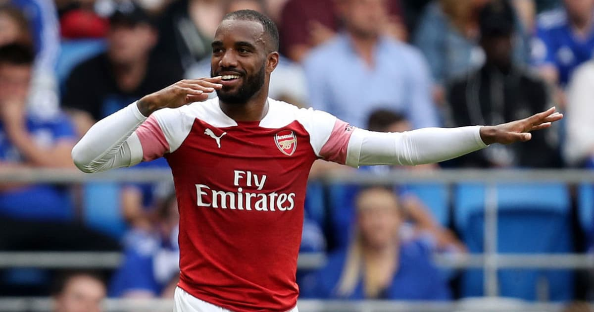 Alexandre Lacazette Named Arsenal Player of the Month After Fine Form in Septemb...
