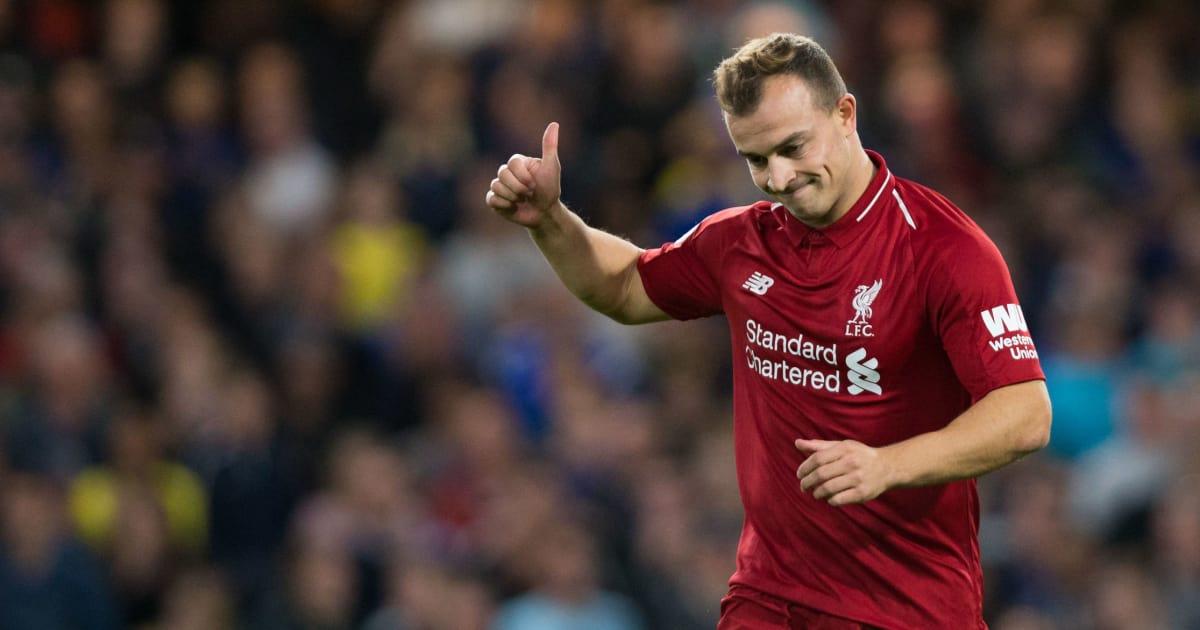 Xherdan Shaqiri Admits 'Harder Time' at Liverpool But Insists Klopp Doesn't Have...