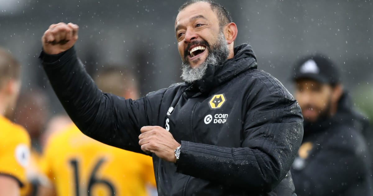 Wolves Boss Nuno Espirito Santo Named Premier League Manager of the Month After ...