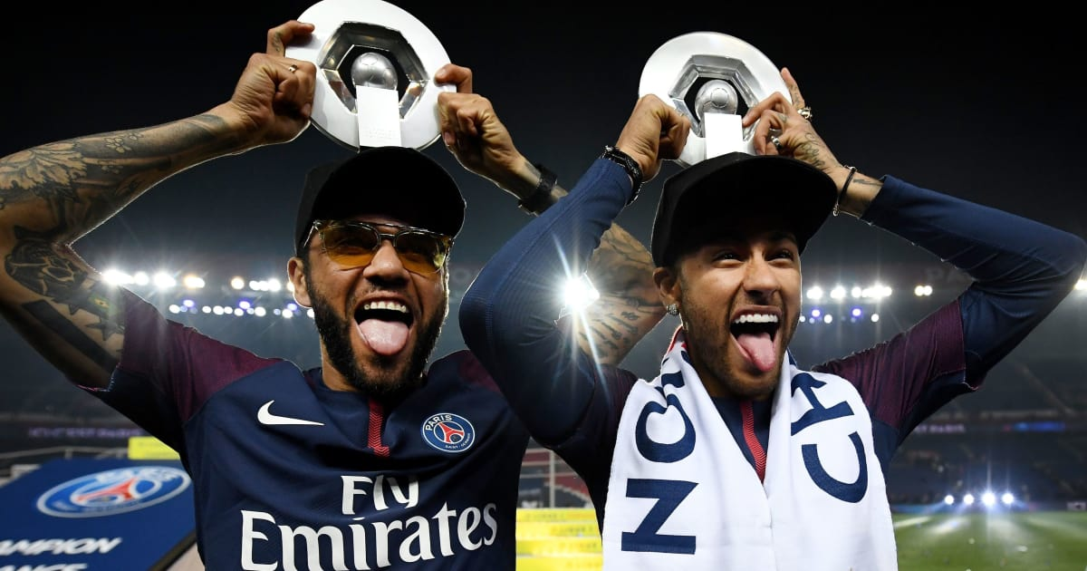 Dani Alves Claims That Neymar Would Have Already won the Ballon d'Or if he had Played Under Pep