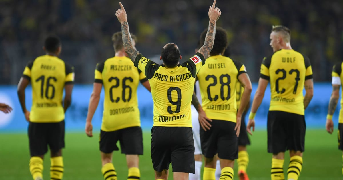Frankfurt BoruГџia Dortmund