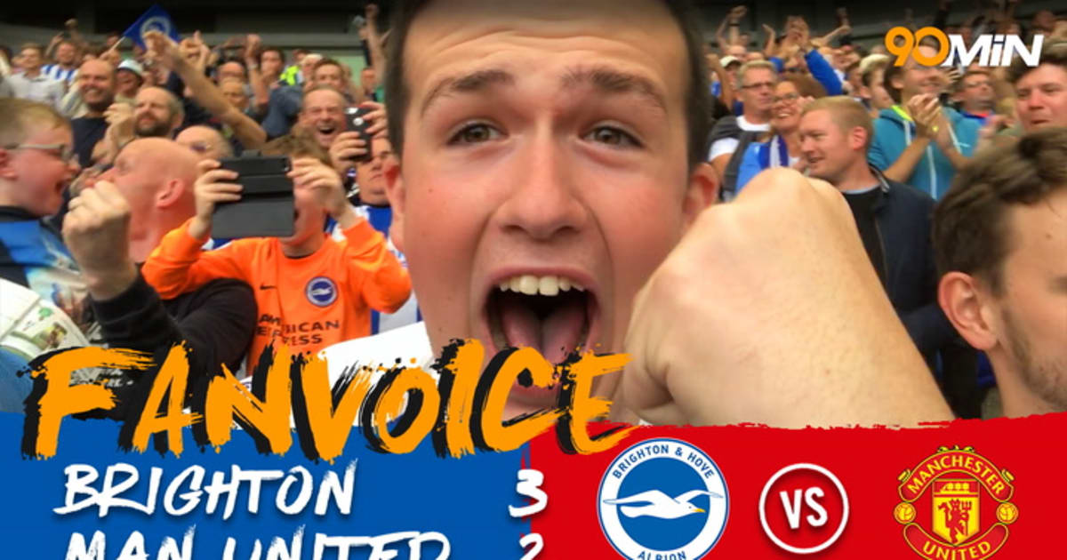 Brighton 3-2 Man Utd | Dominant First Half Display Gives Seagulls Famous Victory | FanVoice