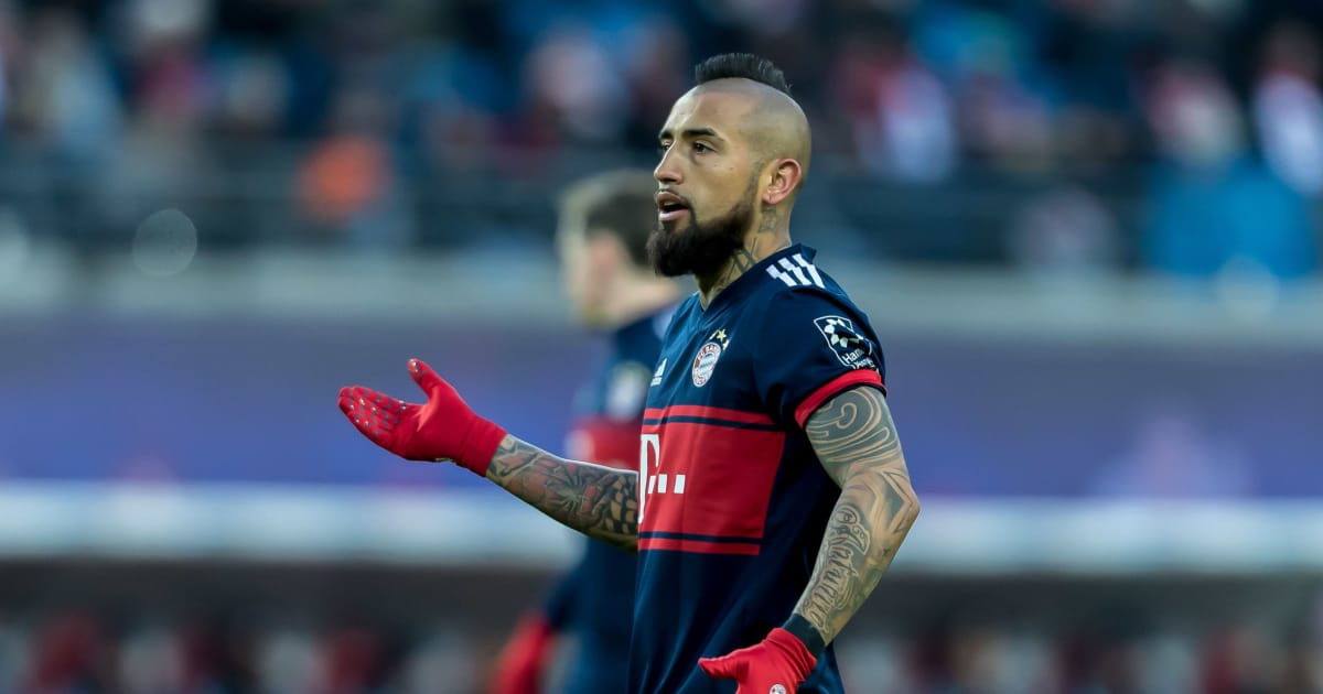 6bd24224e Man Utd   Man City Reportedly Both Turned Down Offers to Sign Arturo Vidal  Prior to