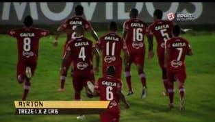 Schin: assista aos melhores momentos do CRB na primeira fase da Copa do Nordeste