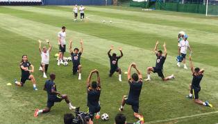 Reservas em campo e golaços de Fred: os detalhes da reapresentação da Seleção